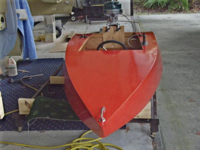 Finished Boats Aeroliner Race Boats